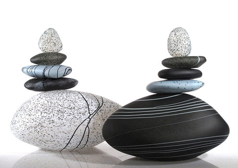 Black and White Cairn Group - Eclipse Gallery