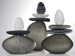 Black and Gray Cairn Group - Eclipse Gallery