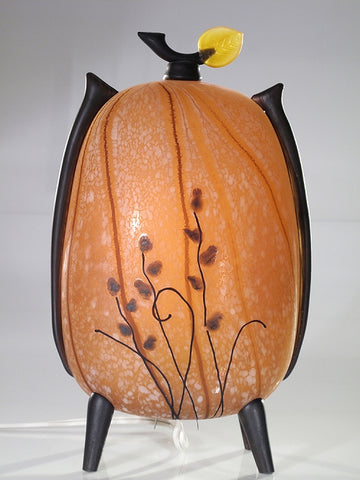Amber Stalk Tall Kyoto Lantern - Eclipse Gallery