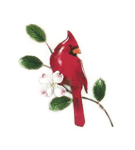 Cardinal on Dogwood