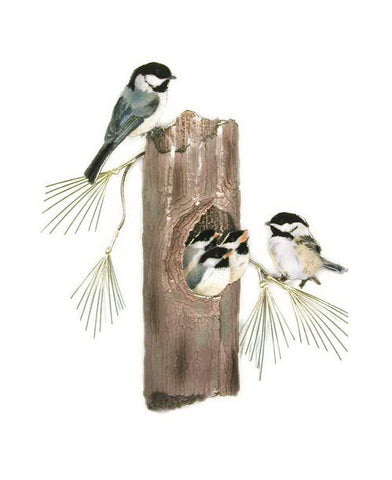Chickadees Nesting - Eclipse Gallery