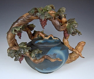 Grapevine Teapot - Eclipse Gallery