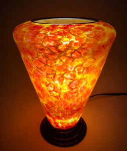 Blown Glass Lamp V - Eclipse Gallery