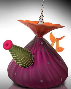 Garden Variety Teapot in Hyacinth - Eclipse Gallery