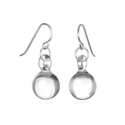 Glass Small Ball Drop Earrings - Eclipse Gallery