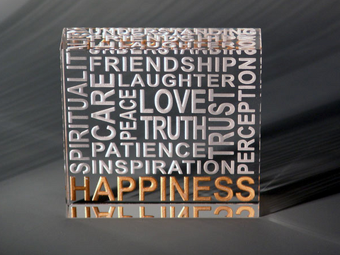 Happiness Paperweights