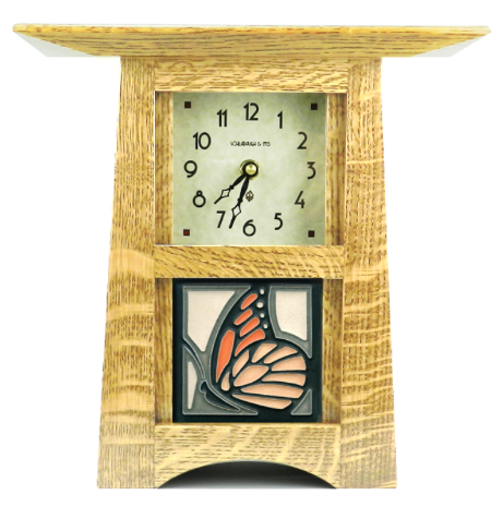 Craftsman Tile Clock - Eclipse Gallery