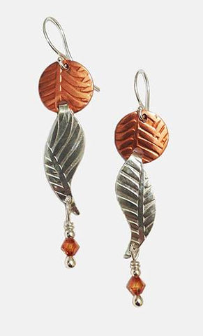 Leaf Dangle Earrings - Eclipse Gallery
