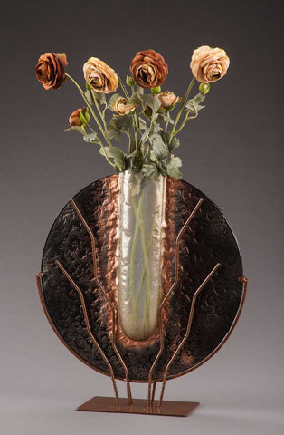 Large Black Marble Vase - Eclipse Gallery