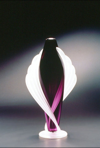 Large-Footed-Tapered-Twist-Vase-heliotrope-Thomas-Kelly-Eclipse-Gallery