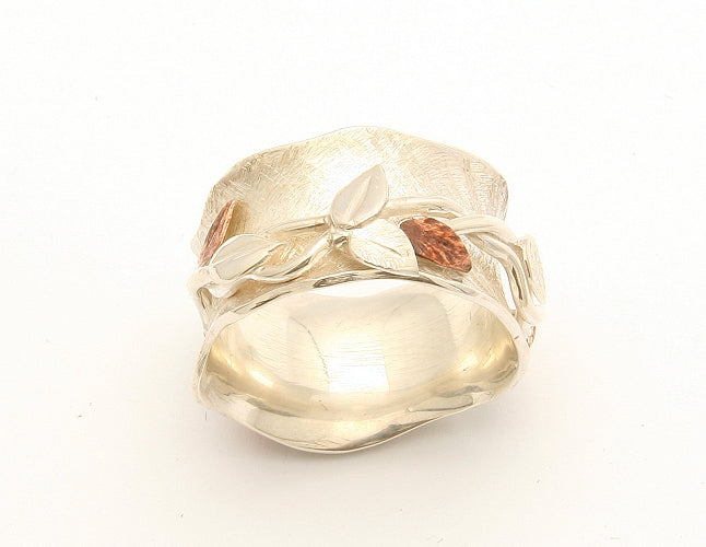 Leaf Spinning Ring