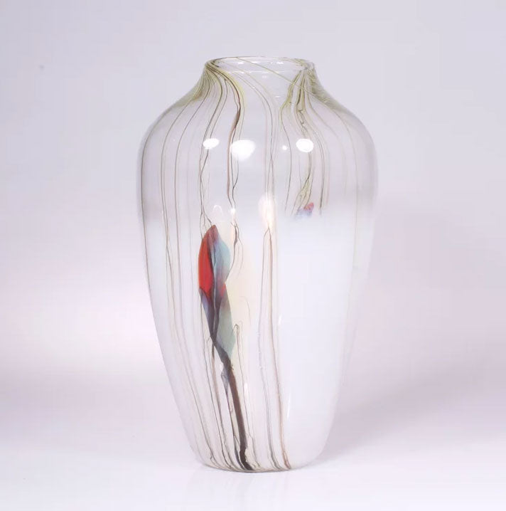 Lily Vase White - Eclipse Gallery