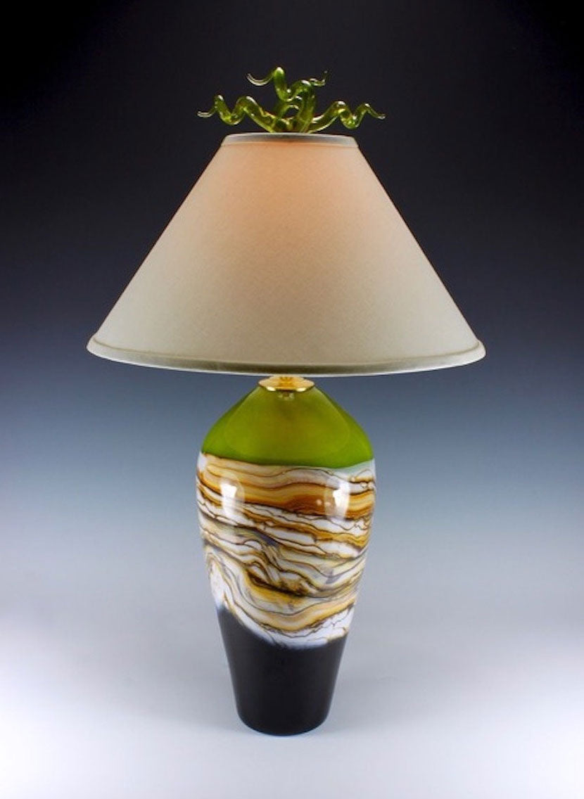 Lime-Strata-Table-Lamp-Danielle-Blade-and-Stephen-Gartner-Eclipse-Gallery