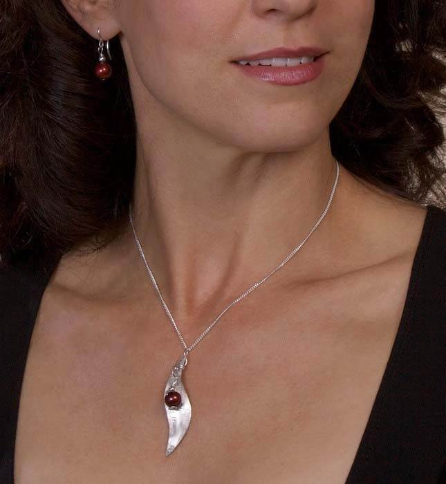Graceful Leaf with Pearls Set - Eclipse Gallery