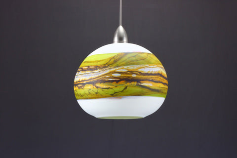 Round-Strata-Pendant-in-White-Opal-with-Lime-off-Danielle-Blade-and-Stephen-Gartner-Eclipse-Gallery