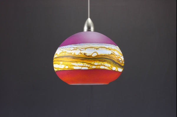 Round-Strata-Pendant-in-White-Opal-with-Ruby-and-Tangerine-off-Danielle-Blade-and-Stephen-Gartner-Eclipse-Gallery