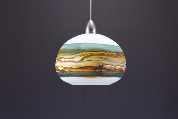 Round-Strata-Pendant-in-White-Opal-with-Sage-off-Danielle-Blade-and-Stephen-Gartner-Eclipse-Gallery
