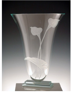Calla Lily flower Vase - Eclipse Gallery