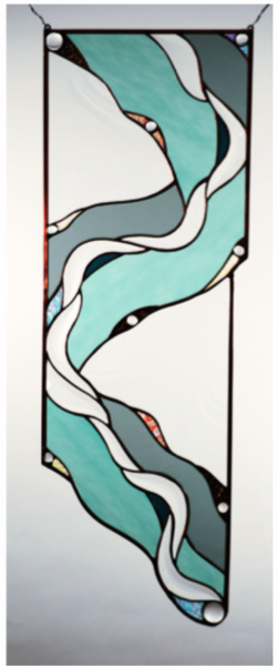 Glass Panel - Tributary - Eclipse Gallery