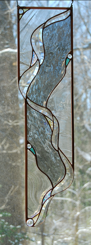 Glass Panel - North Fork - Eclipse Gallery