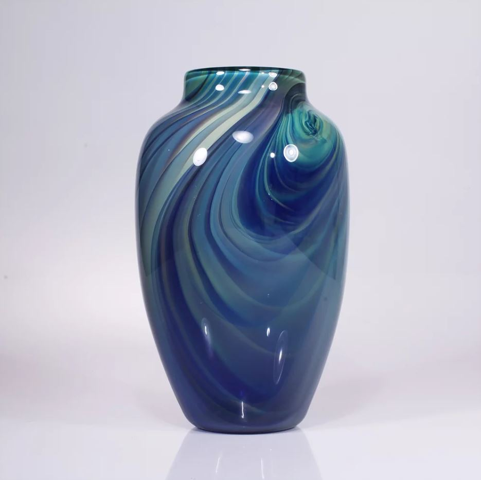 Sequoia Vase Blue