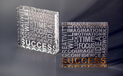 Success Paperweights