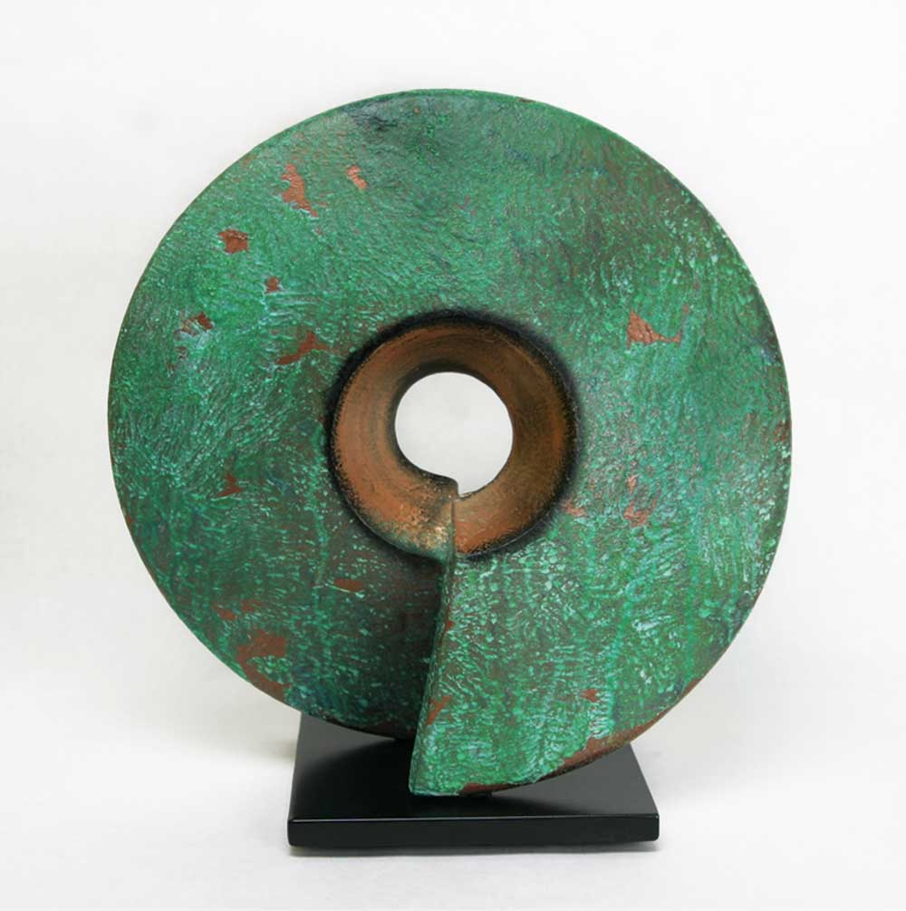 Verde-Coil-Sculpture-Cheryl-Williams-Eclipse-Gallery