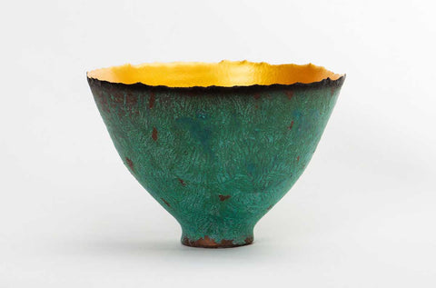 Verde Patina Gold Prosperity Bowl