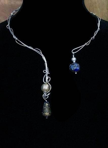 Vine Set (Neck Piece w/Earrings)