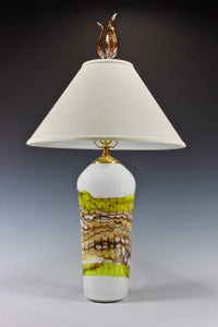 White-Opal-Lime-Table-Lamp-with-Tulip-Finial-Danielle-Blade-and-Stephen-Gartner-Eclipse-Gallery