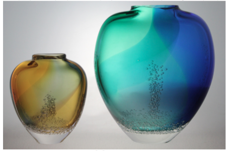 Sea Foam Vases II