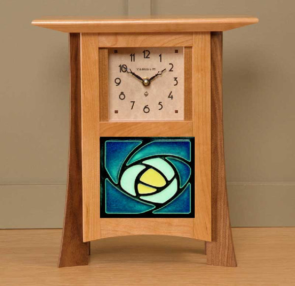 Contemporary Tile Clock - Eclipse Gallery
