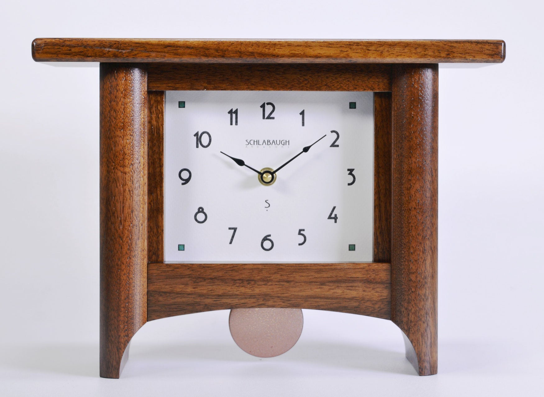 Loft Series Mantel Clock - Eclipse Gallery