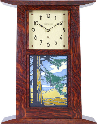 Craftsman Wall or Mantel Clock - Eclipse Gallery