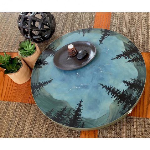 Lazy Susan in Midnight - Eclipse Gallery