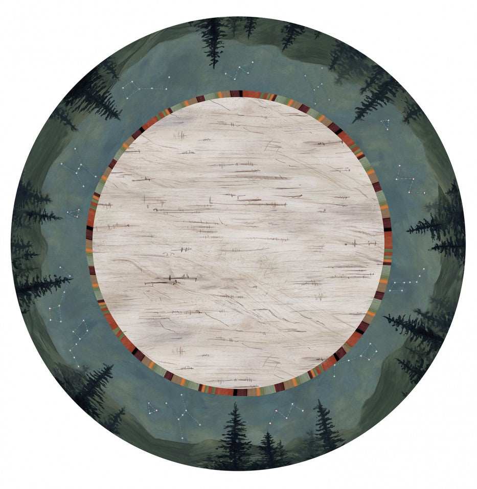 Lazy Susan in Birch Midnight