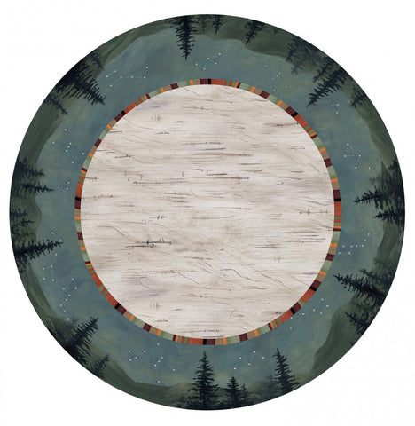Lazy Susan in Birch Midnight - Eclipse Gallery