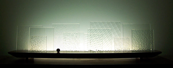 Abstract Glasscapes: Square Ice