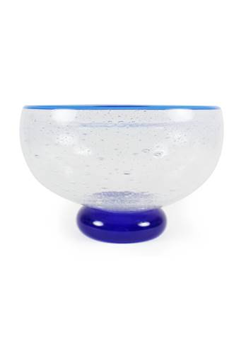 Storm Bowl Blue Crackle