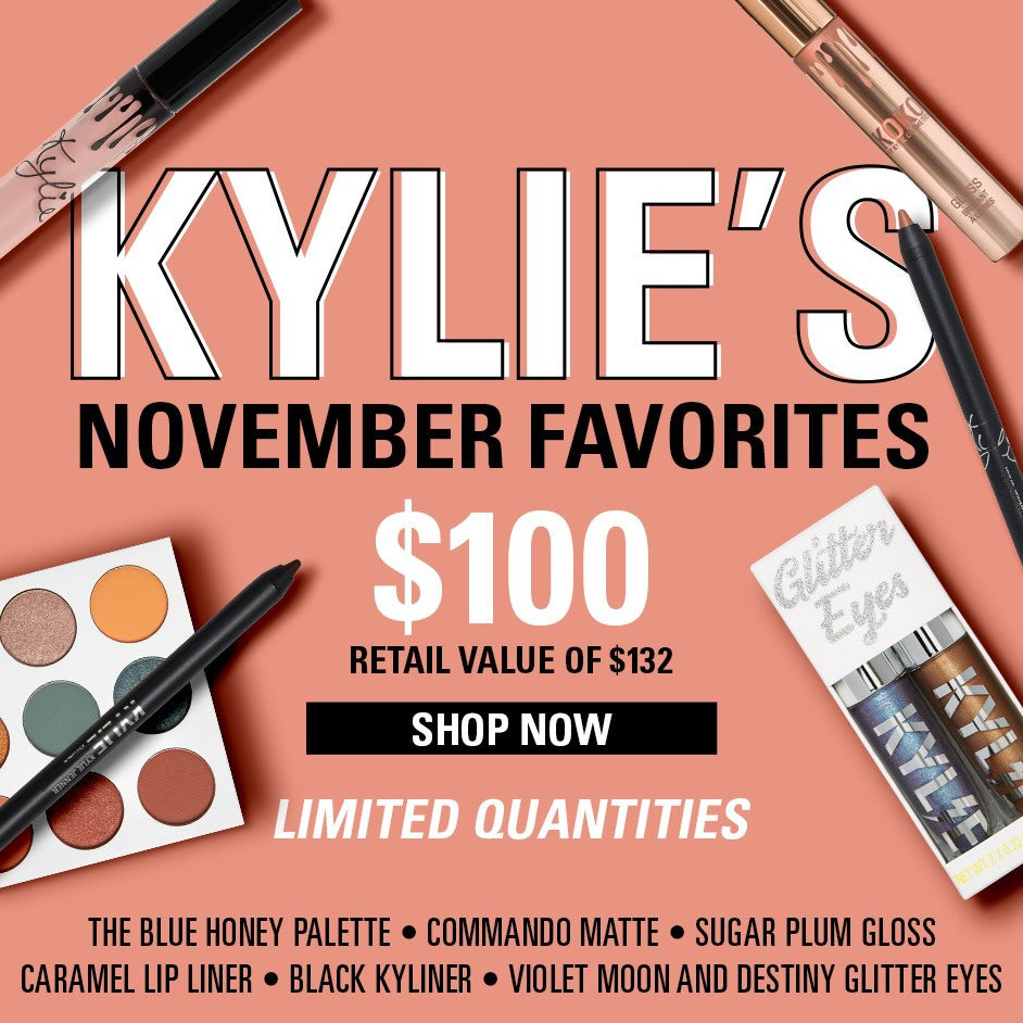 kylie cosmetics by kylie jenner official website