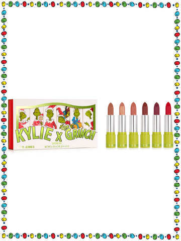 Kylie x The Grinch Lipstick Set