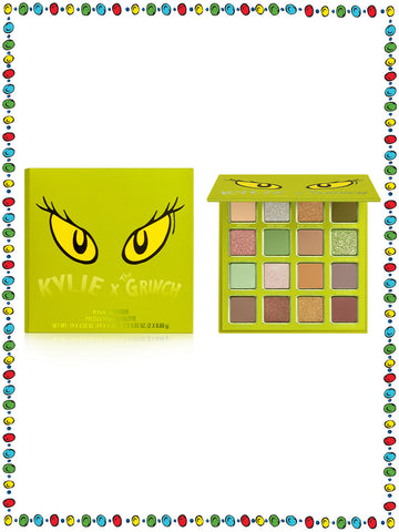 Kylie x The Grinch Pressed Powder Palette