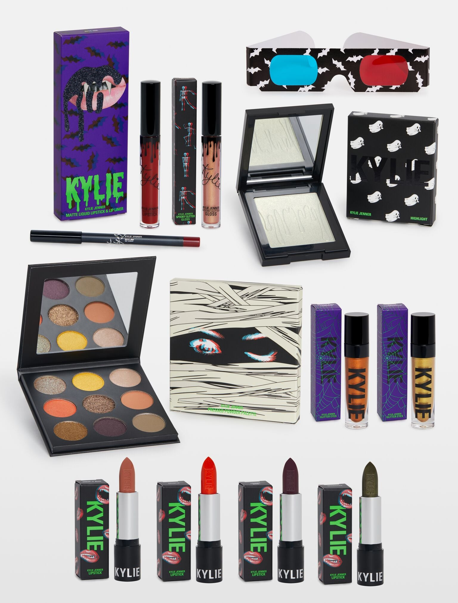 the halloween collection bundle | kylie cosmeticskylie jenner