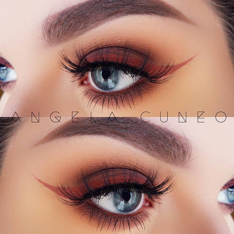 Mink Lashes style Seduction by Hypnaughty Lashes.