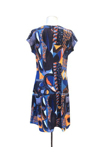 Popsicle Dress Abstract