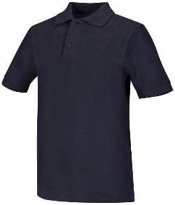 Tiger Academy Unisex Short Sleeve Polo With Logo