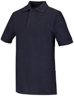 St. Patrick's Girls Navy Blue Polo with School Logo