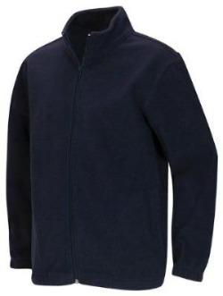 Unisex Navy Fleece w/school logo