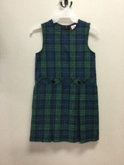 CCA Plaid Jumper (K-2nd) Dress Day & Everyday Option