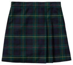 Plaid Wrap Skort